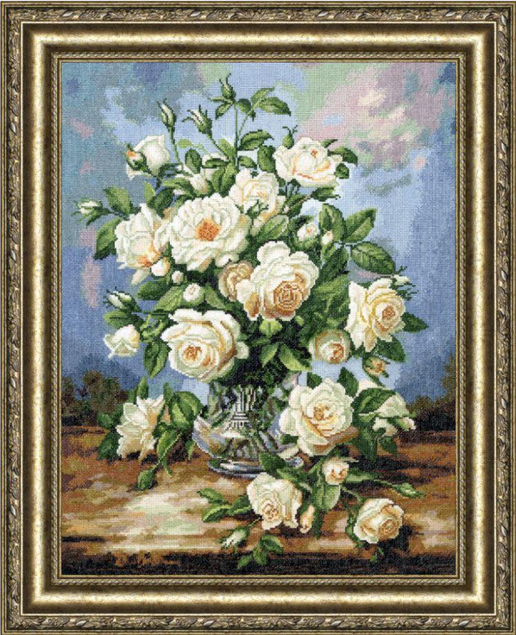 Картины с розами для вышивки 725